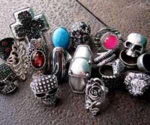 rings and skulls image