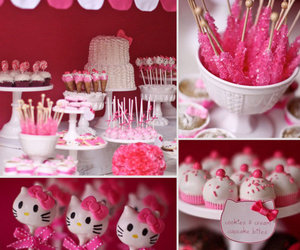 pink, hello kitty, and sweet image