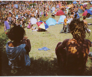 summer, people, and festival image