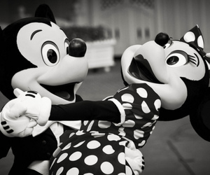 danse, minnie, and mickey image