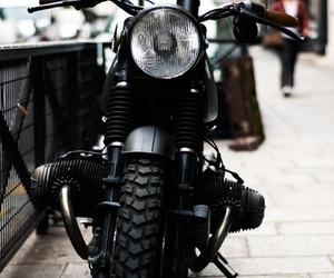 cool black motercycle image