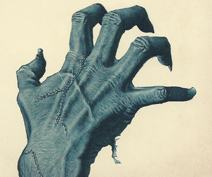 hand and horror image
