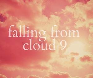 clouds and text image