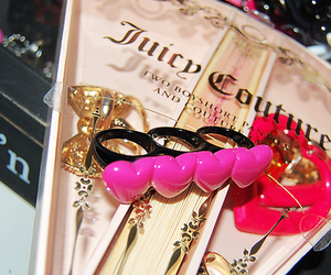 pink, ring, and juicy couture image