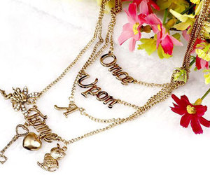 disney, fairytale, and necklace image