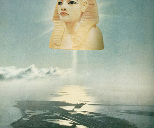 art, Collage, and egypt image