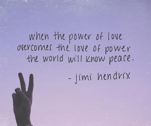peace, love, and Jimi Hendrix image