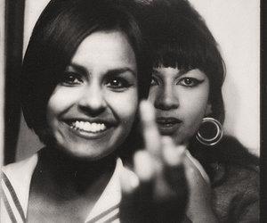 1970s, b w, and girl image