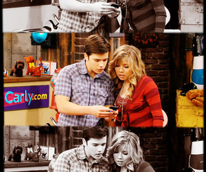 nathan kress, jennette mccurdy, and seddie image