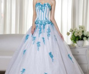 ball gown, dress, and pretty image