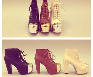 fashion, shoes, and jeffrey campbell image