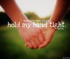 Dream, hands, and hold hands image