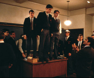 dead poets society, Robert Sean Leonard, and robin williams image