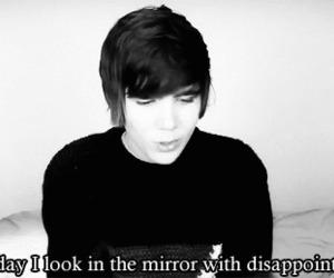 mirror, decepcion, and quote image