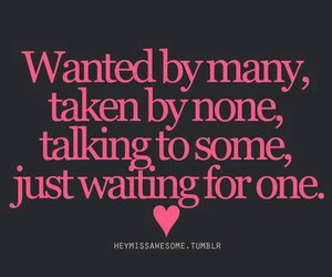 love, quote, and waiting image