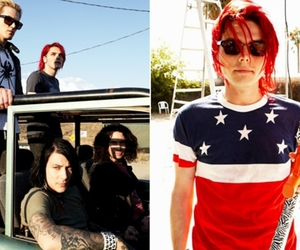gerard way, my chemical romance, and mikey way image