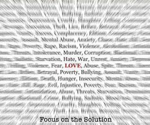 love, solution, and focus image