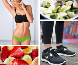 fitspo and fitness image