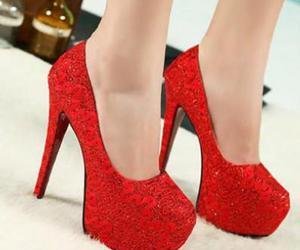 fashion, girly, and heels image