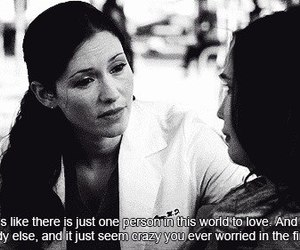 grey's anatomy, lexie grey, and love image