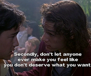 quote, heath ledger, and 10 things i hate about you image