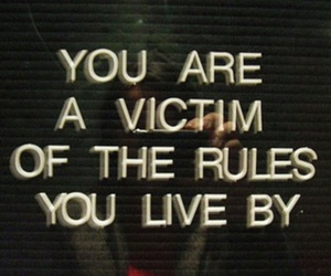 quotes, victim, and rules image