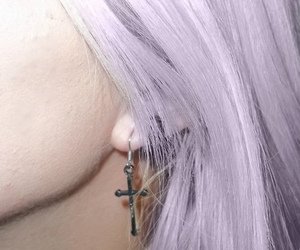 alternative, earring, and grunge image