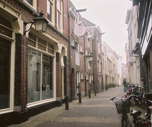 street, vintage, and city image