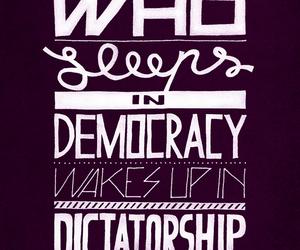 democracy, dictatorship, and sleep image