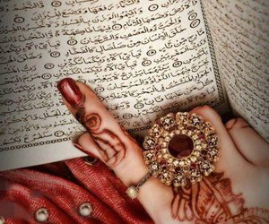 henna, quran, and ring image