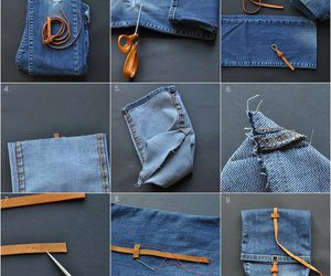 diy, bag, and jeans image