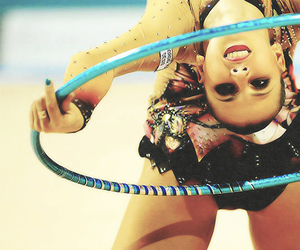 hoop, rhythmic gymnastics, and daria dimitreva image