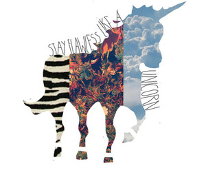 unicorn, flawless, and hipster image