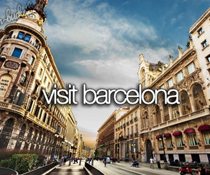 Barcelona, spain, and bucketlist image