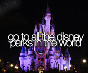disney, Dream, and travel image