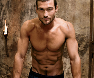 spartacus and andy whitfield image