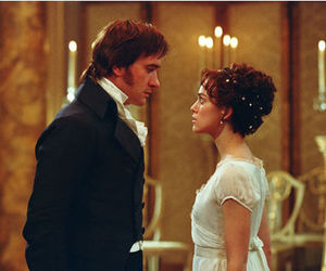 pride and prejudice, jane austen, and mr darcy image