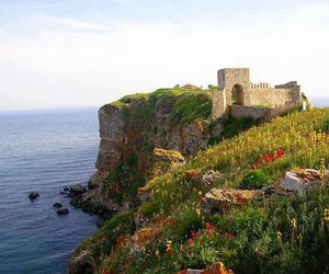 black sea, bulgaria, and fortress image