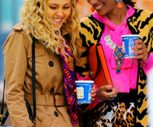 larissa, freema agyeman, and the carrie diaries image