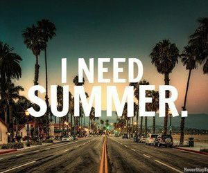 summer, beach, and need image