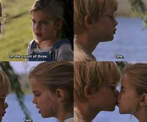 boy, first kiss, and girl image