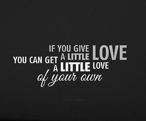give, Lyrics, and love image