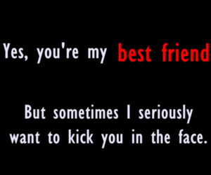 quote, best friend, and friends image
