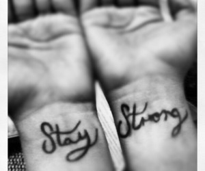 stay and strong image