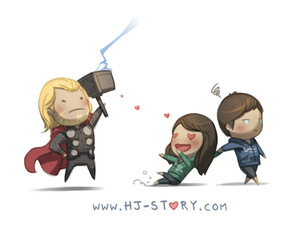 love and thor image