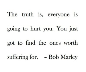 bob marley, break up, and broken heart image