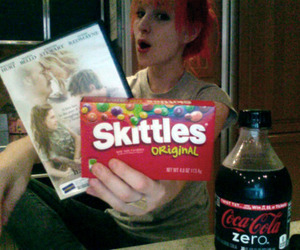 hayley williams and skittles image