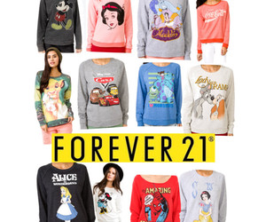 disney, fashion, and forever 21 image