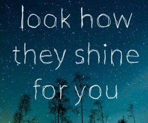 stars, shine, and quotes image