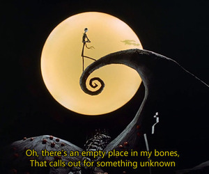 nightmare before christmas, jack, and quote image